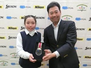 小林イリス(東京・聖学院小4年)