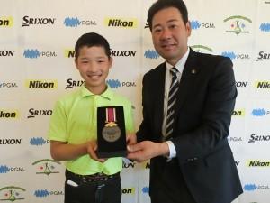上田翔太(愛知・木曽川西小6年)