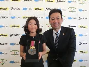 鈴木めい(千葉・豊岡小2年)