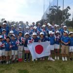 開会式日本代表集合