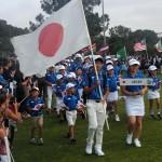 開会式日本代表行進
